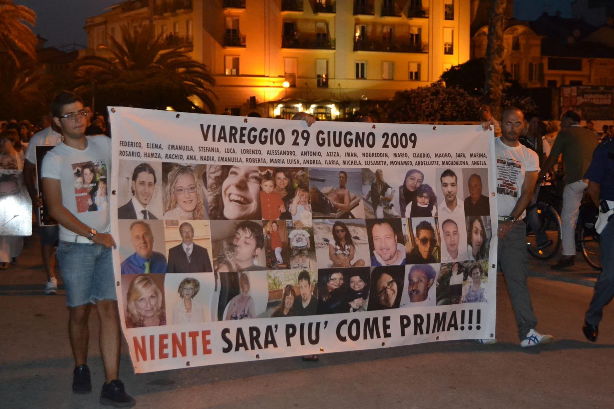 Strage di Viareggio, i famigliari delle vittime al Quirinale per chiedere giustizia