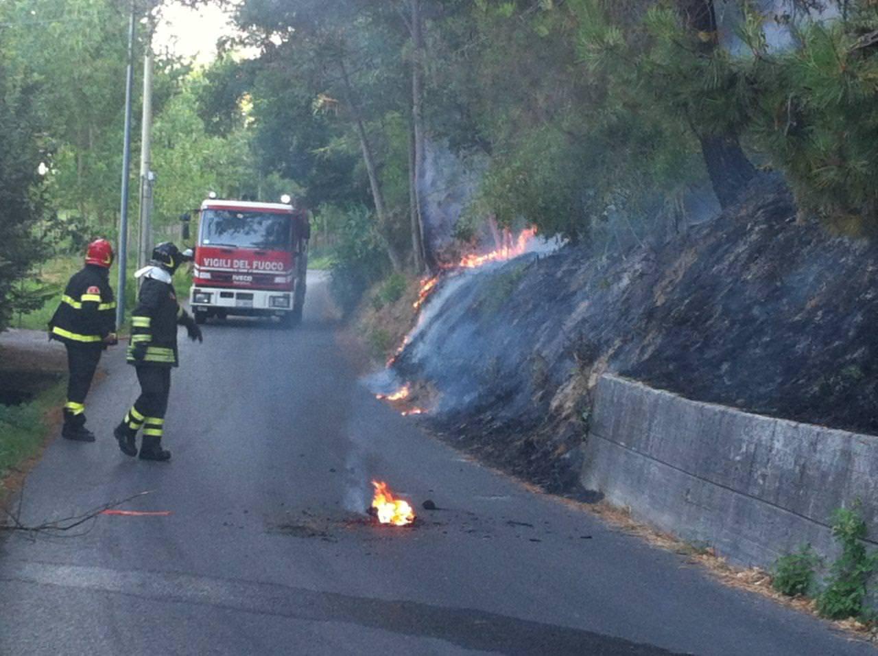 Incendi boschivi: parte la task force estiva a livello provinciale