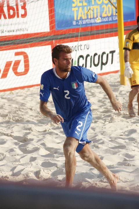 EUROPEI BEACH SOCCER: STREPITOSO RAMACCIOTTI, L'ITALIA BATTE LA POLONIA