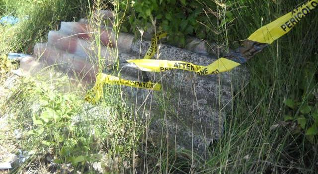 Trovato eternit e legname abbandonato vicino alla discarica delle Carbonaie