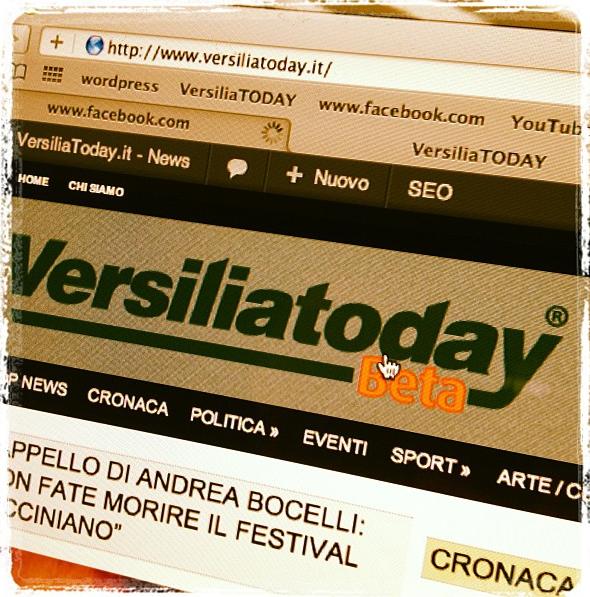 Gli eventi di VersiliaToday geolocalizzati