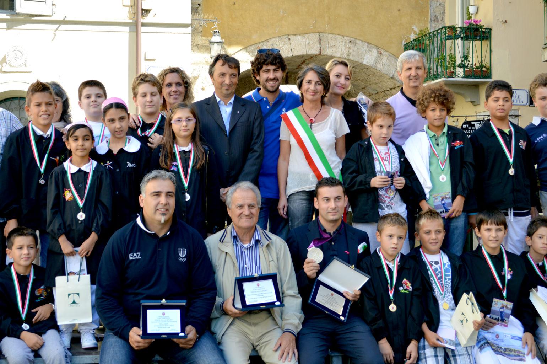 Vizzoni, Tesconi e Pardini: Camaiore premia gli olimpionici versiliesi