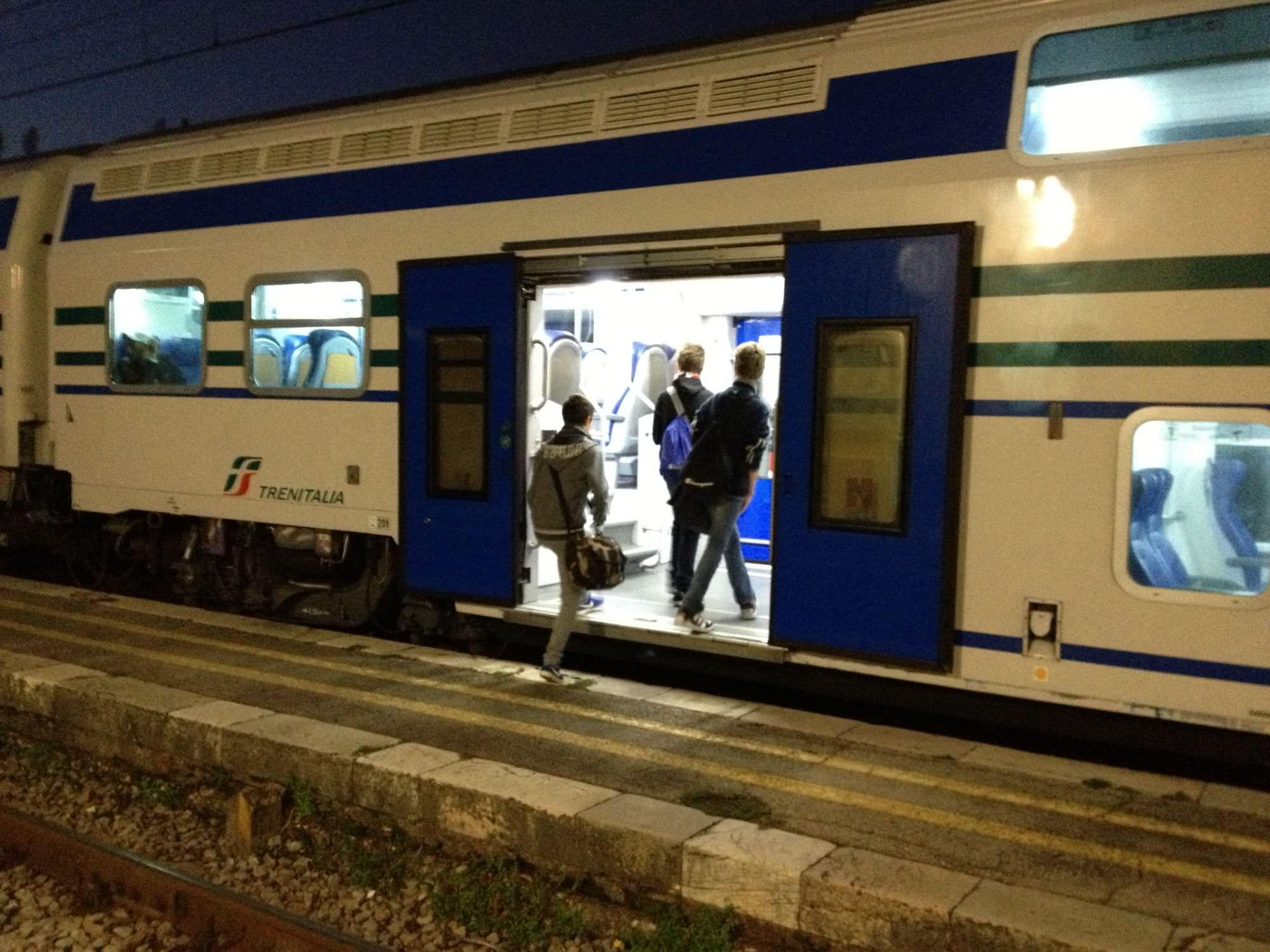 """""""Più controlli a bordo dei treni. Un progetto per la sicurezza del personale"""""""