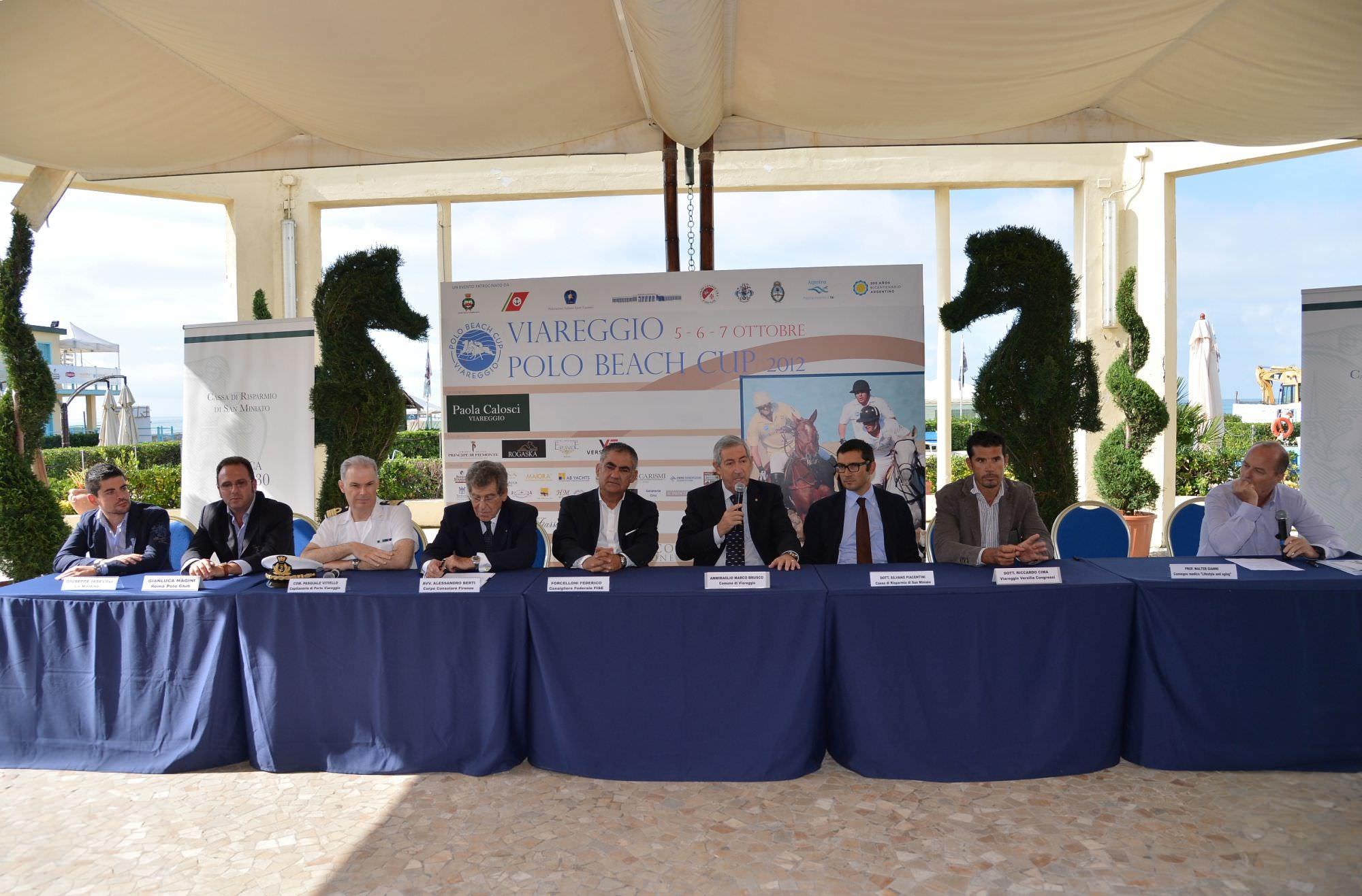 """TUTTO PRONTO AL PRINCIPE DI PIEMONTE PER LA """"VIAREGGIO BEACH POLO CUP"""""""