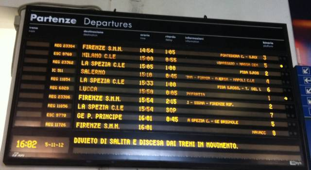 Treni in ritardo? L'Antitrust multa Trenitalia. Da marzo rimborsi più rapidi