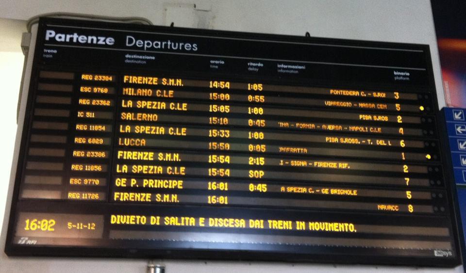 Trenitalia rimborsa gli abbonati per i disservizi di luglio