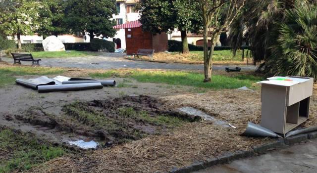 Taglio cigli stradali e sistemazione giardini, gli interventi della settimana