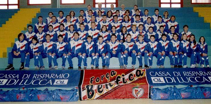 Quando il Benfica era una squadra della città di Viareggio