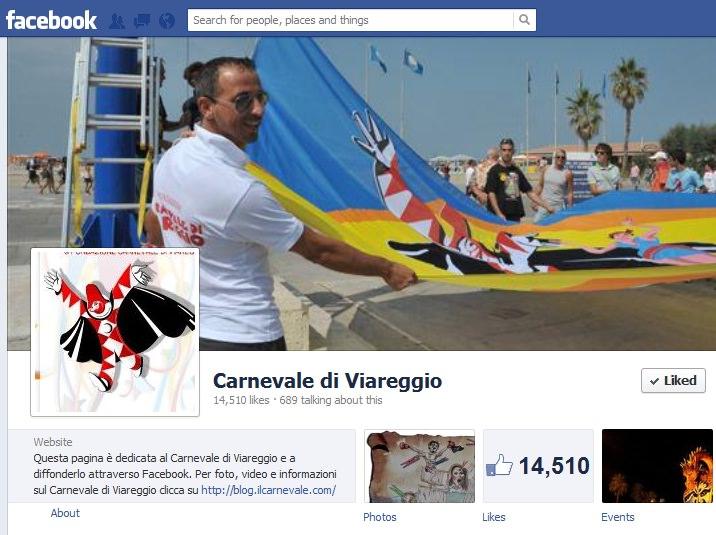 """CON """"CARNEVALE 2.0"""" I CARRI SFILANO ANCHE IN RETE E SUI SOCIAL MEDIA"""