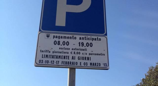 Parcheggi gratuiti fino a Befana