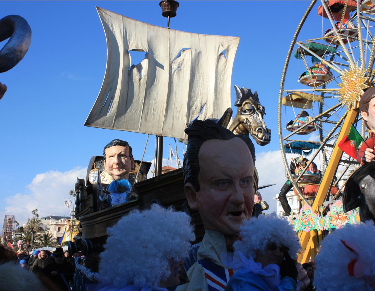 Carnevale, potrebbe sfilare in Germania la Angela Merkel realizzata da Marzia Etna