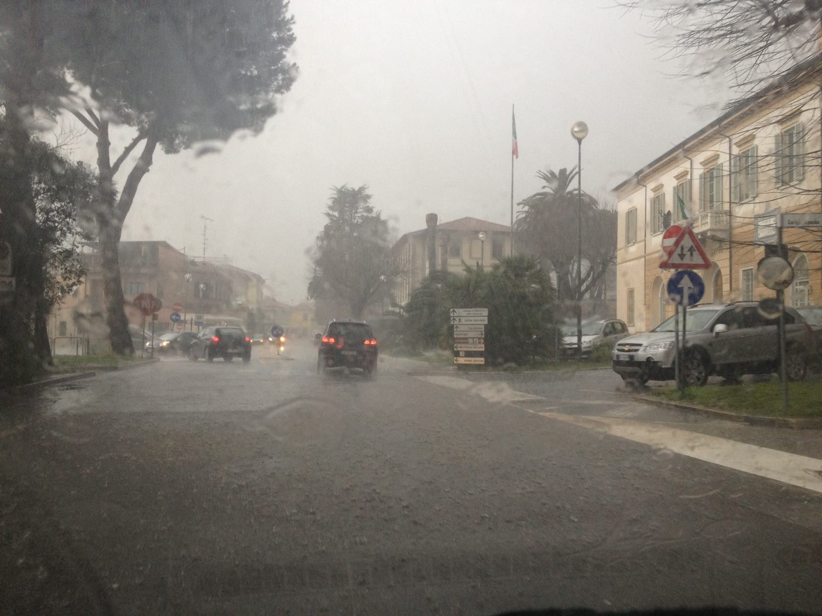 Pronte a Pietrasanta le schede riepilogative dei danni causati dal maltempo
