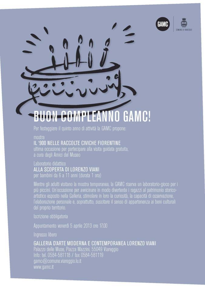 Buon compleanno GAMC