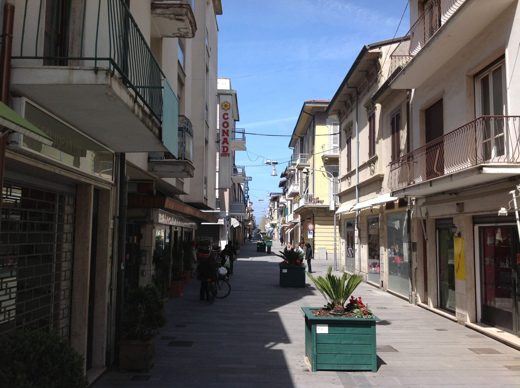 Viareggio, via Battisti