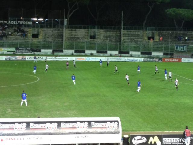 FINALE COPPA ITALIA LEGA PRO: VIAREGGIO-LATINA 1-0 (PRIMO TEMPO)