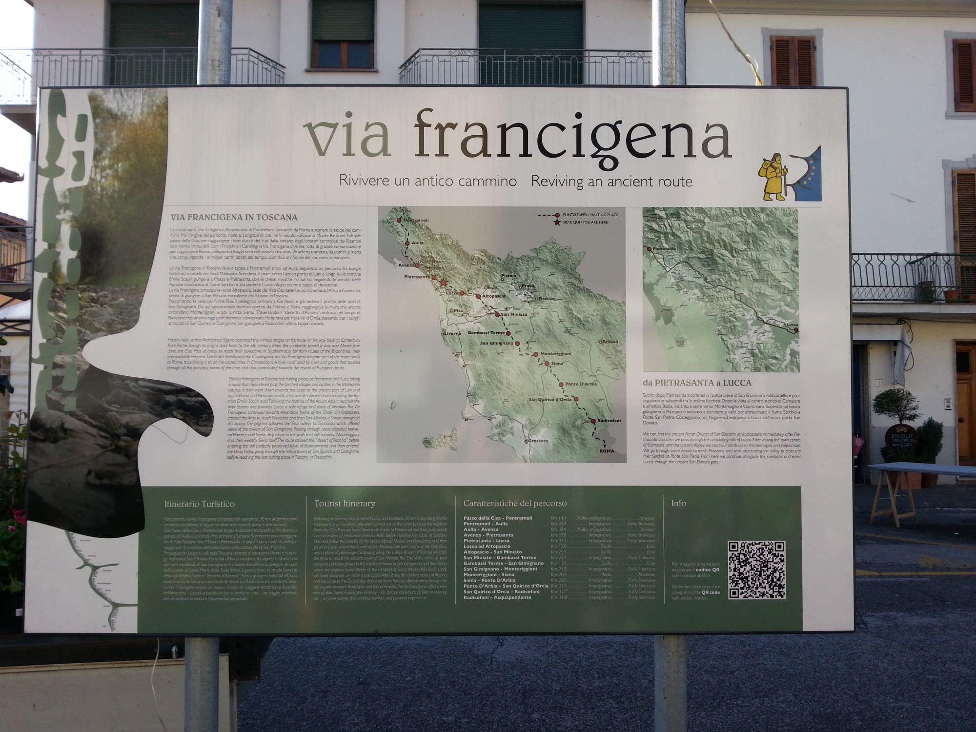 """""""Camaiore cancellata dal percorso della Francigena"""". Nuove proteste in città"""