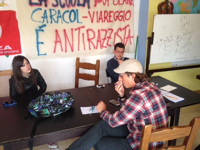 """Il Caracol: """"I lucchetti all'Unione Inquilini atto inqualificabile per chi si professa comunista"""""""
