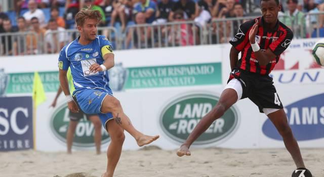 """Beach soccer, l'aria nuova di Viareggio. Marinai: """"Carichi e affamati"""""""