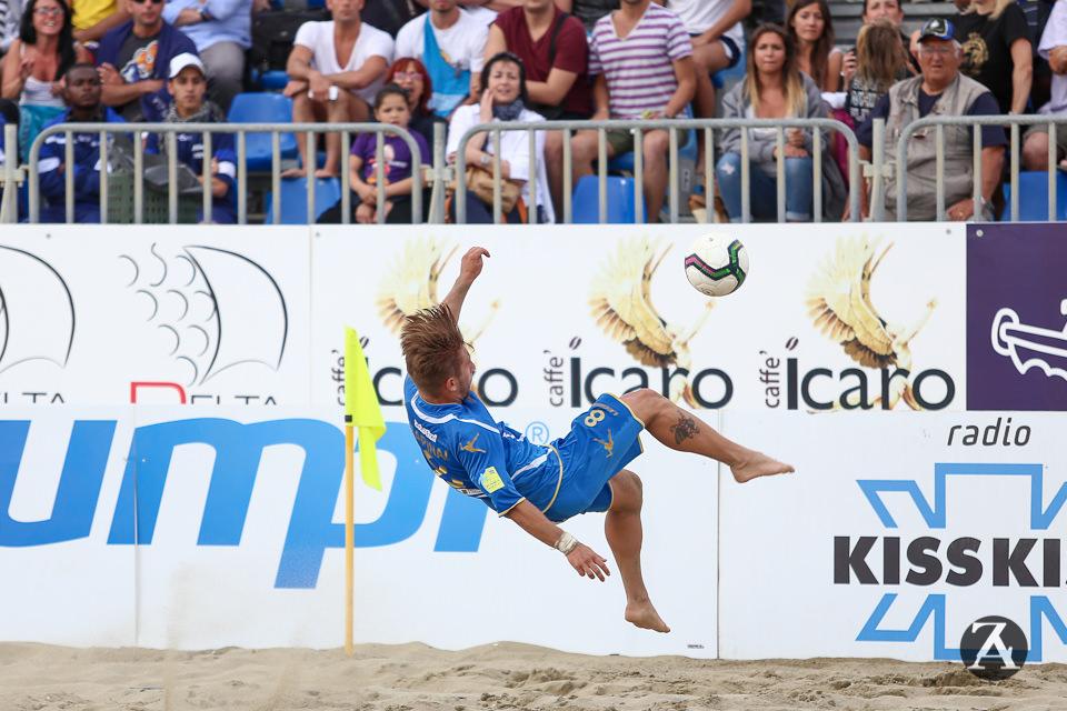 Beach soccer, Gori e Marinai lanciano l'Italia a Manchester
