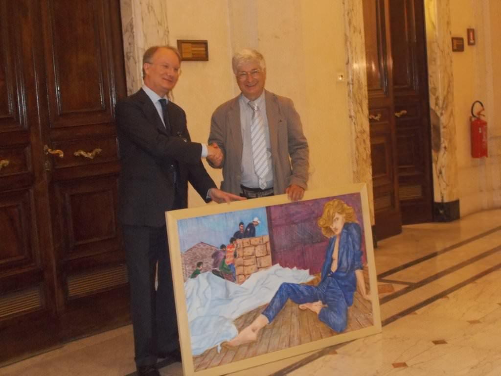 Due opere di Carlo Carli alla Camera dei Deputati