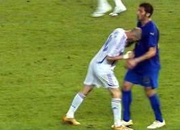 Anche Marco Materazzi all'inaugurazione della mostra Italia vs Francia