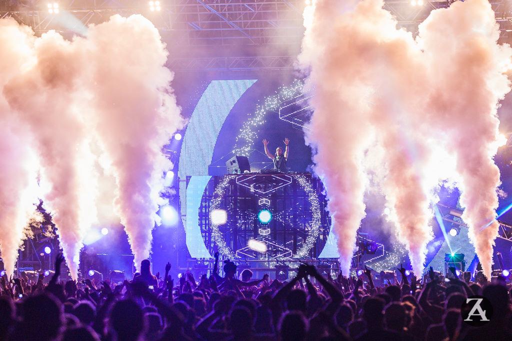 David Guetta in Cittadella a Viareggio: lo spettacolo non delude i fan (fotogallery)