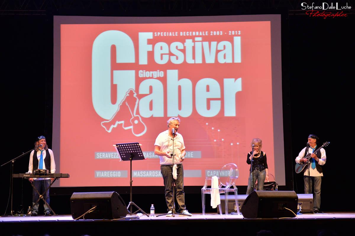 Un mese di appuntamenti in tutta la Toscana per il Festival Gaber