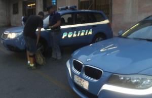 polizia, controlli, stazione