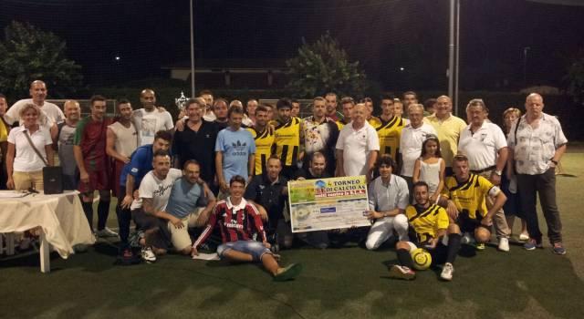 Carrozzeria Giannelli vince il torneo 'Uniti contro la Sla'
