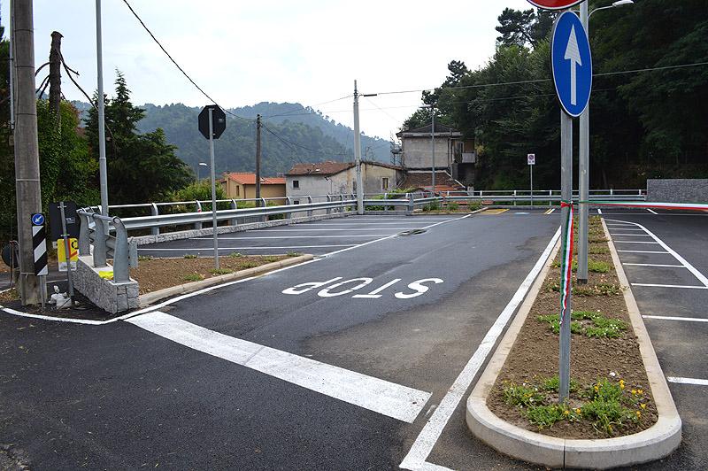 Camaiore, inaugurato il nuovo parcheggio di via Contra