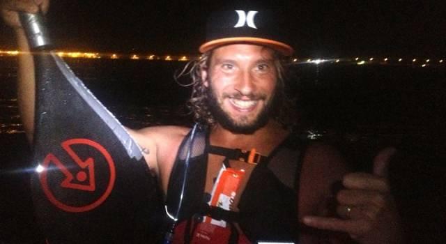 """Parla il surfista soccorso in mare: """"Mai stato in difficoltà: mi sto allenando per arrivare in Corsica con le telecamere Rai"""""""