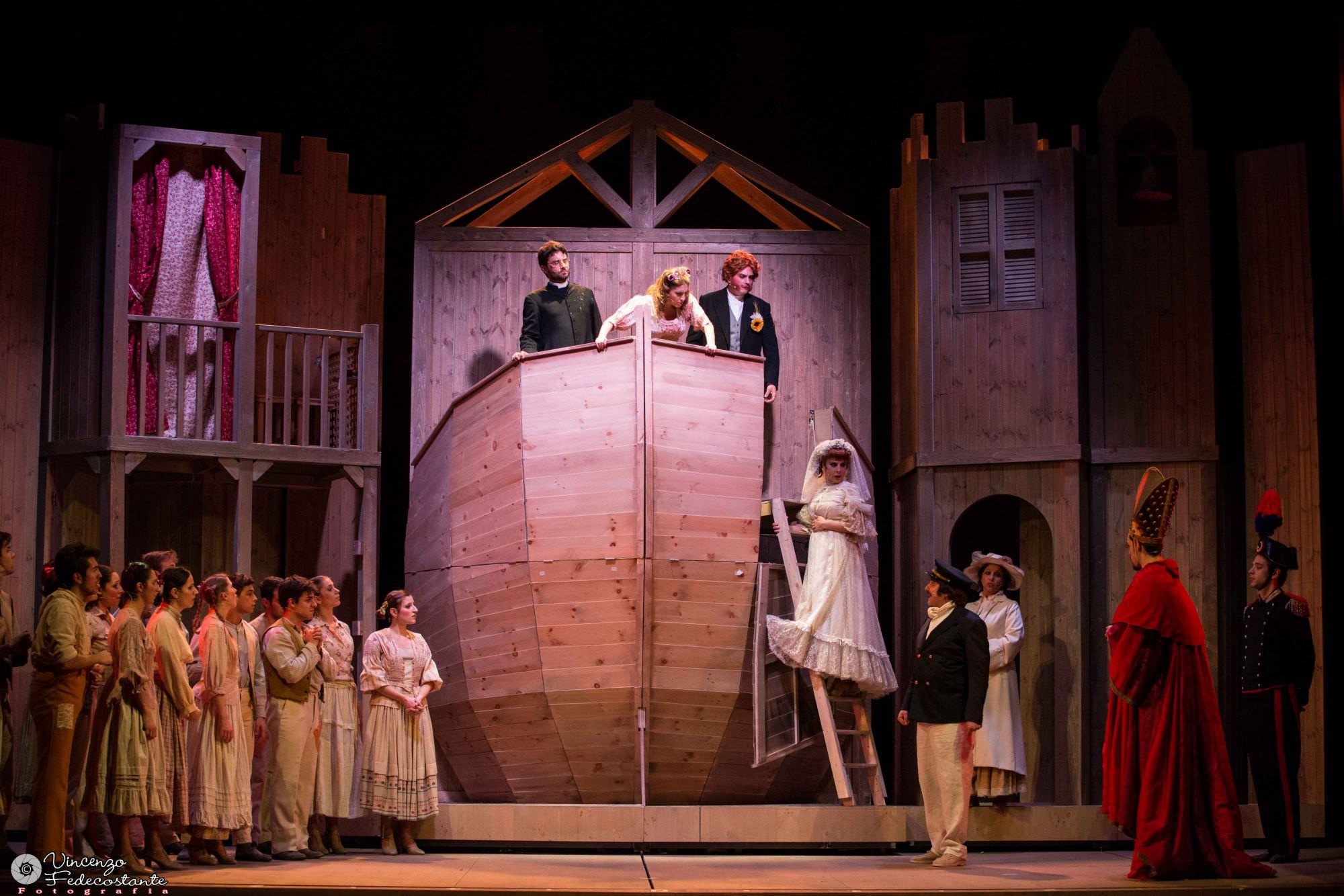 Al teatro la versiliana tempo di musical con un grande - Aggiungi un posto a tavola musical completo ...