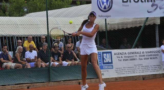 "Al torneo ""Caparol"" debuttano Alexia Virgili e Jelena Simic"
