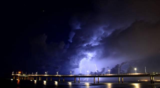 Ancora allerta meteo in Toscana: pioggia, vento e mareggiate