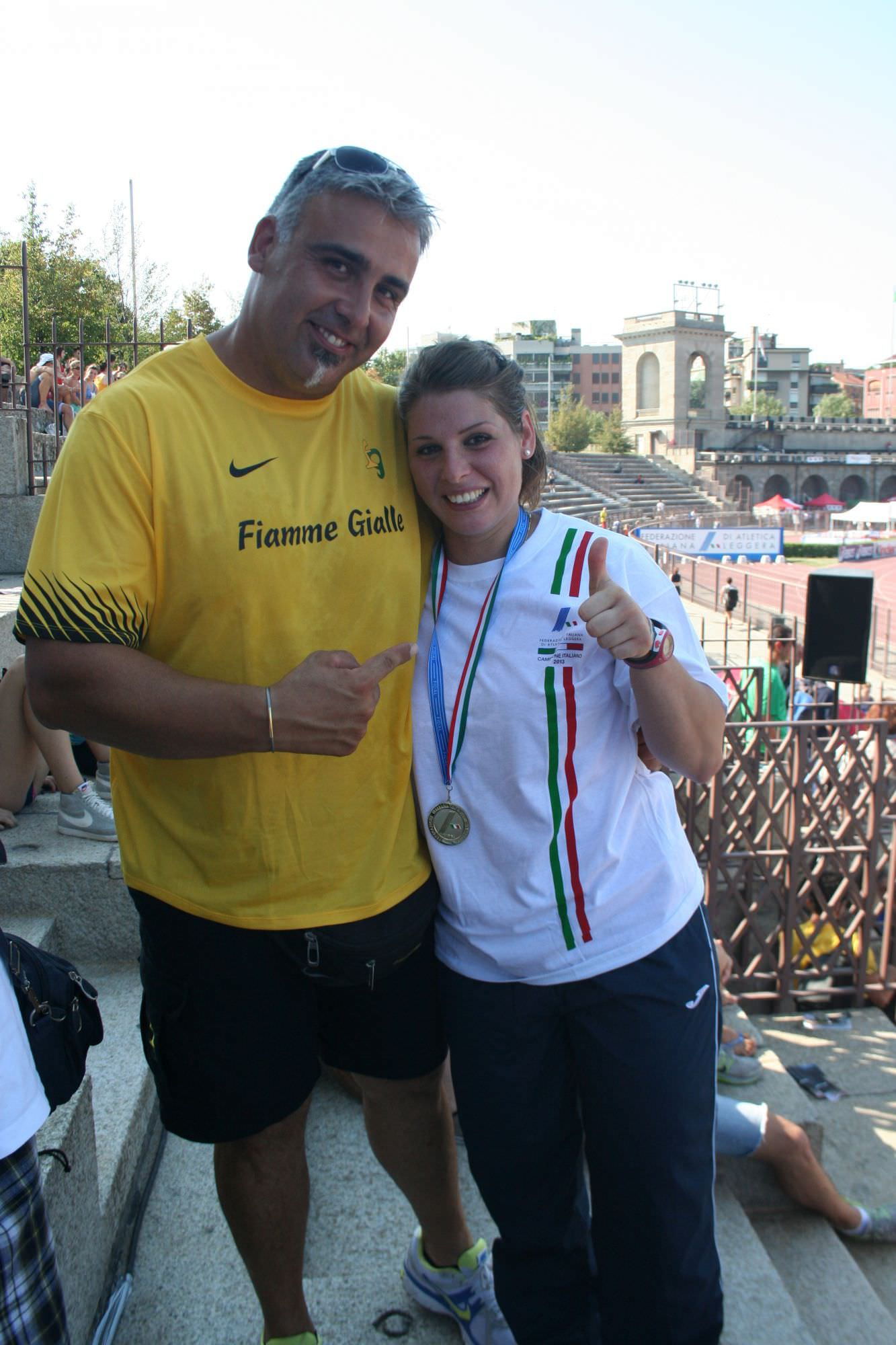 Atletica leggera, Vizzoni trionfa ai campionati italiani nel lancio del martello