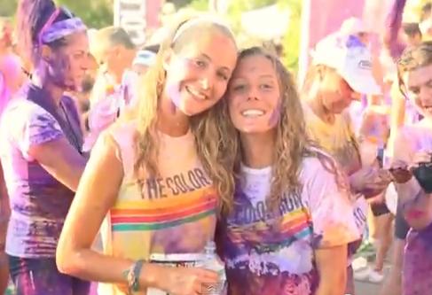 The Color Run: il video della festa a Marina di Pietrasanta
