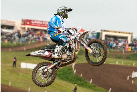 Motocross, Simpson vince l'ultima prova del campionato belga