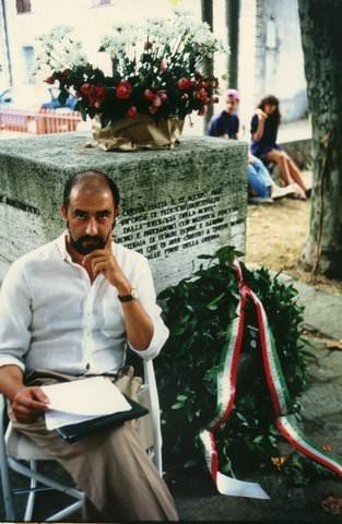Gian Piero Lorenzoni ricorda il Presidente dell'Istituto storico della Resistenza, Ivan Tognarini