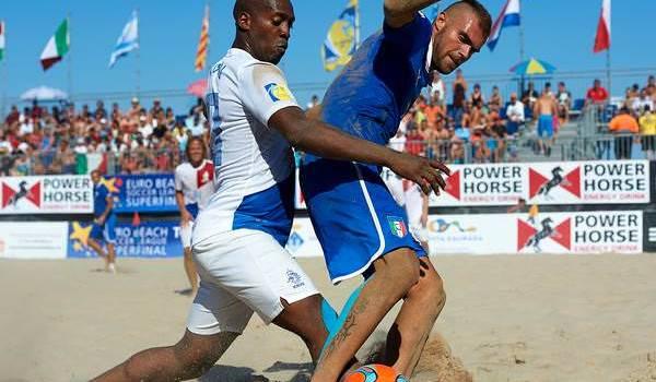 Beach soccer, è ancora Gori show: l'Italia batte l'Olanda ma non basta per la finale di Euroleague