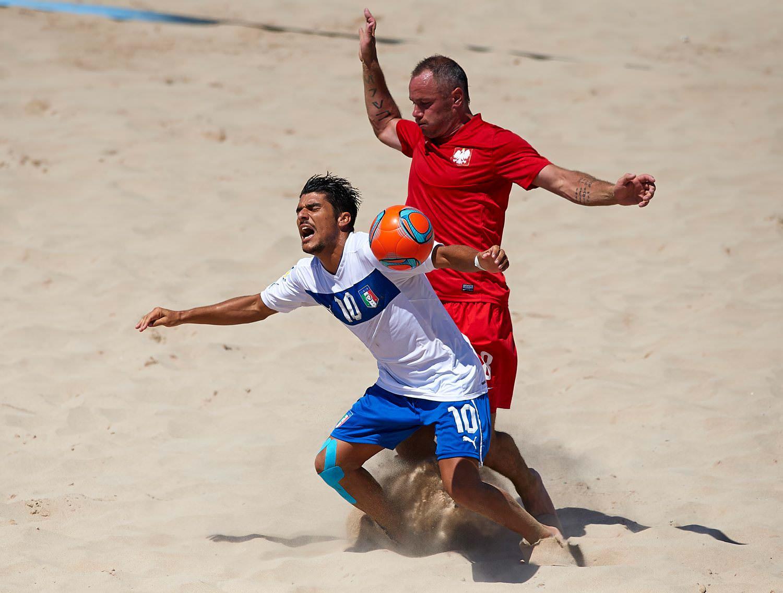 Beach soccer, Italia battuta dalla Polonia: sesto posto nella Euroleague