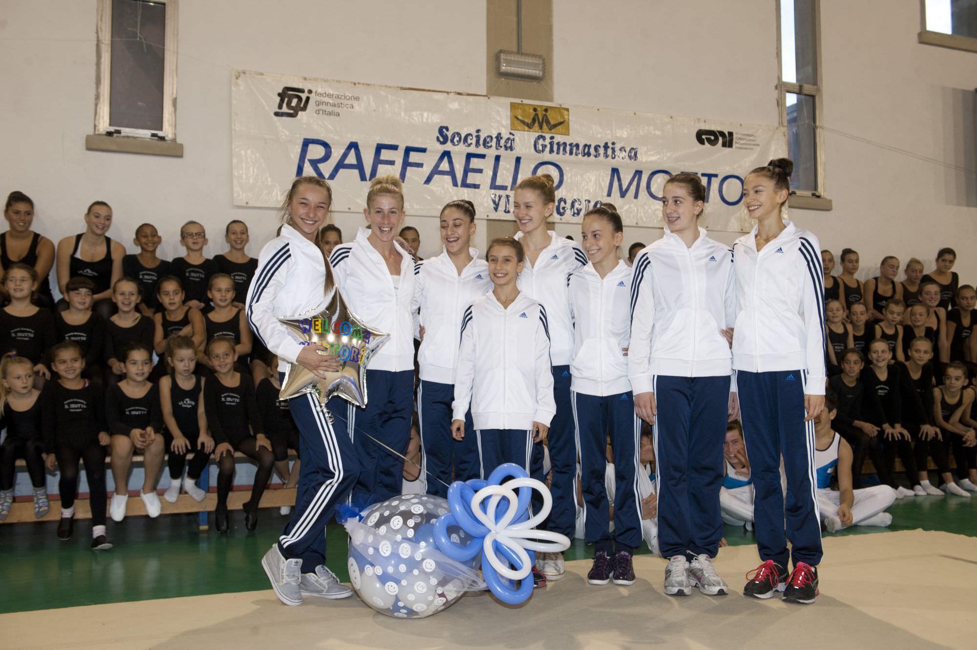 Ginnastica ritmica, la Motto di scena a Udine al torneo ASU