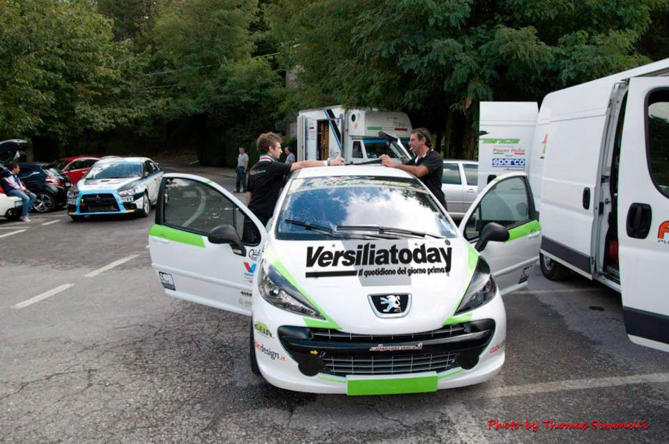 Rally città di Camaiore: Versiliatoday in corsa con l'equipaggio n° 32