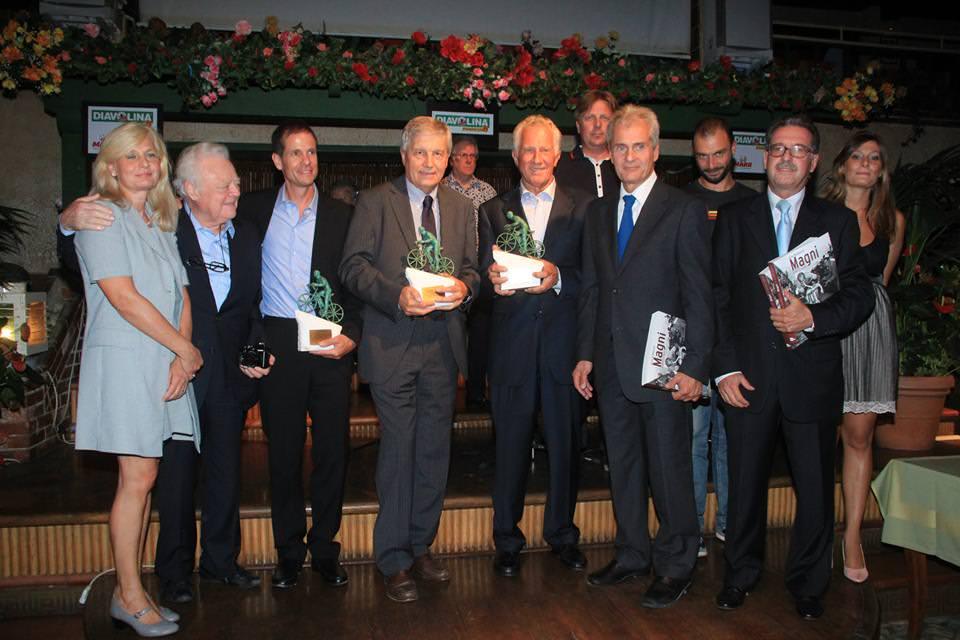 Parata di campioni alla Capannina per il premio Torriani