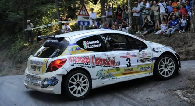 Rally, Gabriele Lucchesi conquista la vetta del Trofeo Automobile Club Lucca