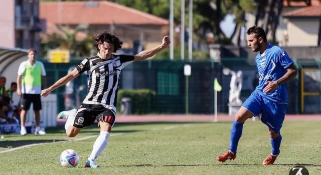 Coppa Italia Lega Pro, Viareggio-Virtus Entella si gioca mercoledì 2 ottobre alle 15