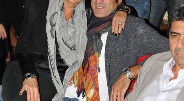 Cristiano Lucarelli si scatena in Capannina con la moglie