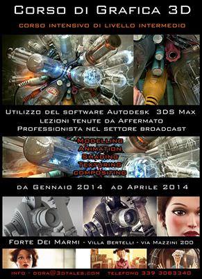 Al via a Villa Bertelli il corso di grafica 3D