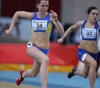 Podio per Gloria Rontani nei 100 metri agli Assoluti Allievi