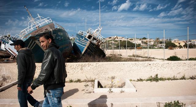 Profughi di Lampedusa: almeno 29 persone ospitate in Provincia di Lucca