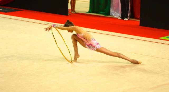La Motto si prepara al campionato di ginnastica ritmica con una stella ucraina